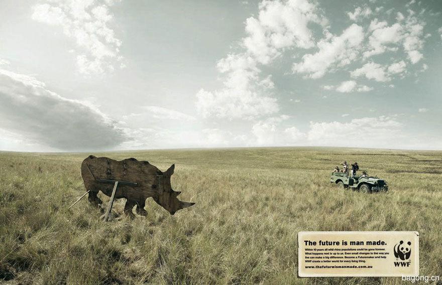 33个动物公益广告震撼人心44