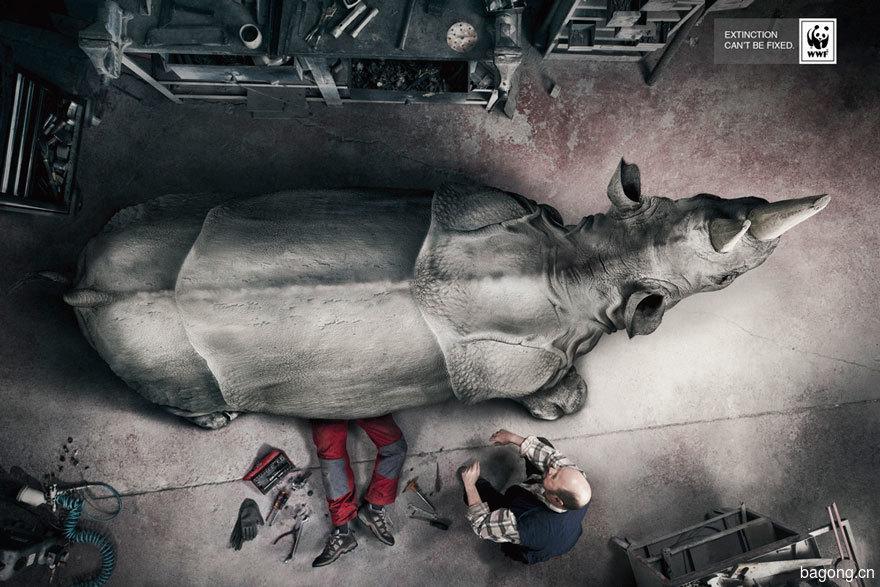 33个动物公益广告震撼人心34