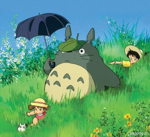 宫崎骏动画中的龙猫 现实世界里的毛丝鼠