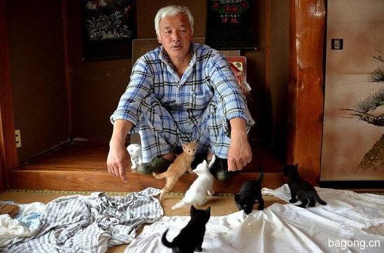 男子为照顾动物留守核辐射区,超有爱!4