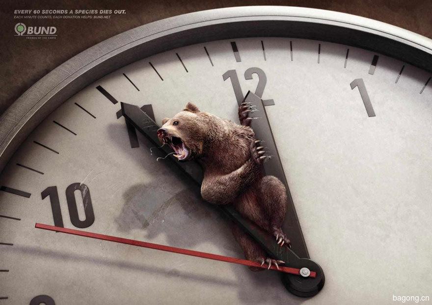 33个动物公益广告震撼人心1